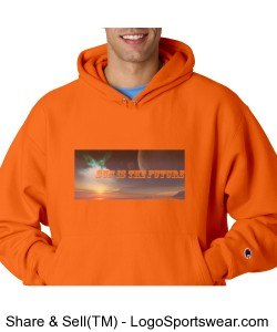 Sunisthefuture Unisex Reverse Weave Hooded Champion Sweatshirt Go2 Design Zoom