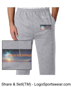 Sunisthefuture 50/50 Heavyweight Bottom Open Sweatpant Gg1 Design Zoom