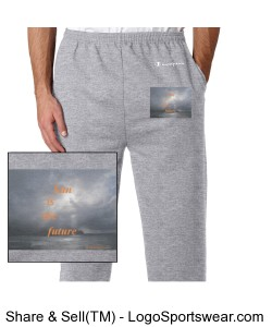 Sunisthefuture Champion 50/50 Heavyweight Fleece Open Bottom Pant AAg1 Design Zoom